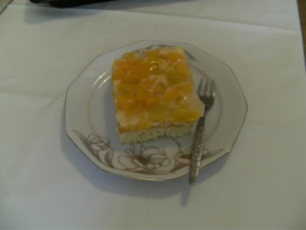BLECHKUCHEN - Uta's Pfirsich-Torte vom Blech - Rezept - Bild Nr. 2