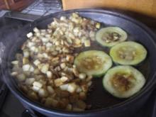 Gemüse-Zuchinischeiben geröstet - Rezept