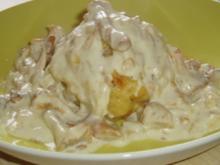 Eierschwammerl (Pfifferlinge) à la crème - Rezept