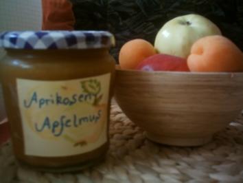 Aprikosen-Apfelmus - Rezept