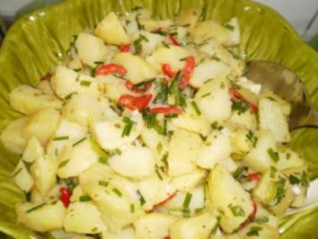 Kartoffelsalat ganz besonders lecker - Rezept