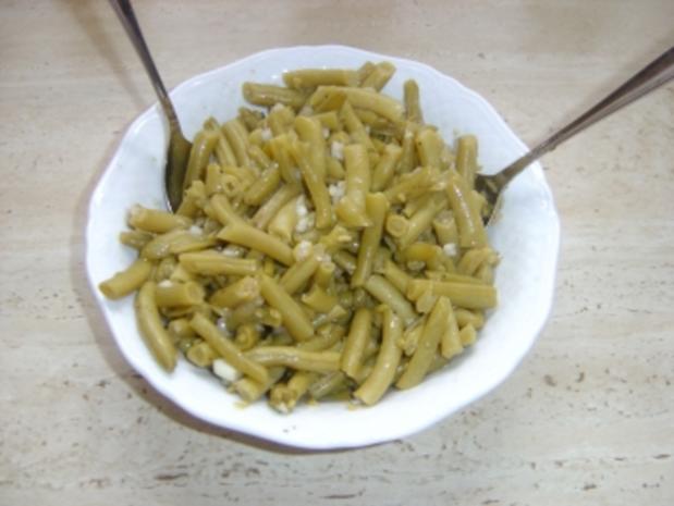 Grüne Bohnen Salat - Rezept
