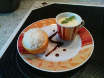 Orangensoße & Reis - Rezept