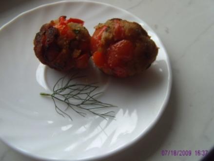 Paprika-Dill-Kräuter-Bällchen - Rezept