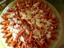 Tomaten mit Schafskäse - Rezept
