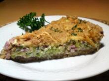 Zucchini-Schinken-Torte - Rezept