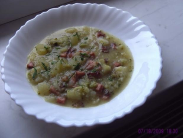 Broccolisuppe - Rezept