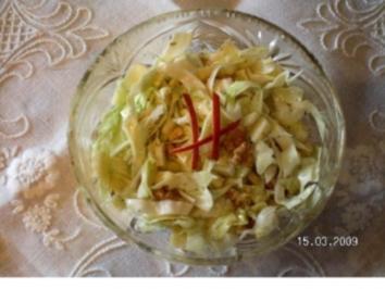 Jaromakohl -Salat - Rezept