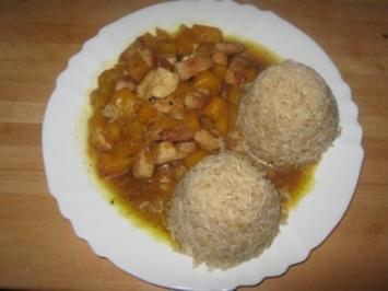 Rezept: Fruchtiges Curry