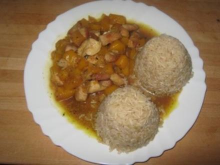 Fruchtiges Curry - Rezept