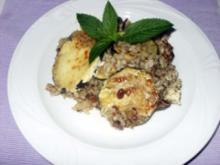 Zucchiniauflauf mediterran - Rezept