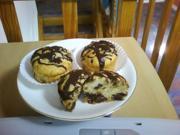 """Muffins """"Banane-Rosinen-Schokolade"""" - Rezept"""