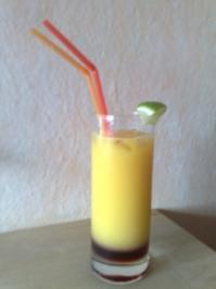 830784d063e Sonnenaufgang Cocktail für Kinder - Rezept mit Bild - kochbar.de