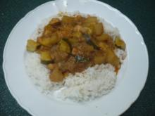 Schnelles Hühner - Gemüse - Curry - Rezept