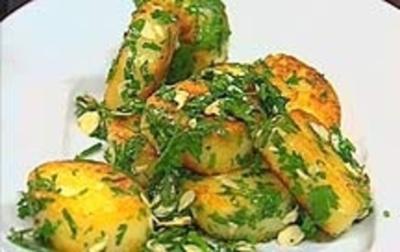 Rezept: Gebratener Kartoffelkloß