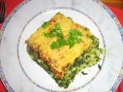 Spinat-Lachs-Auflauf - Rezept