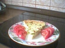Zucchini-Speck-Kuchen - Rezept