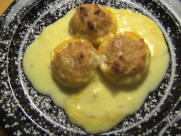 Desserts: Überbackene Pfirsiche - Rezept