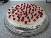 Johannisbeer - Mascarpone Torte - Rezept