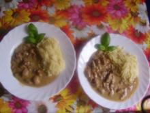 Fleischtopf mit Reisnudeln - Rezept