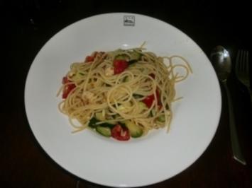 Meine Lieblings-Spaghettini - Rezept