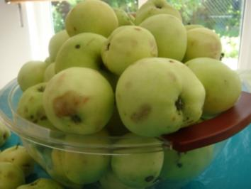 Dessert: Apfelmus - im Glas - Rezept