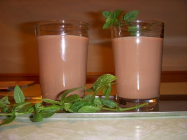SCHOKO-MINZE-DRINK - Rezept - Bild Nr. 2