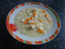 Hünchen Zitronen Suppe - Rezept