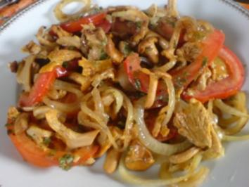Rezept: Überbackene Pilze - Pfifferlinge