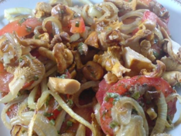 Überbackene Pilze - Pfifferlinge - Rezept - Bild Nr. 2
