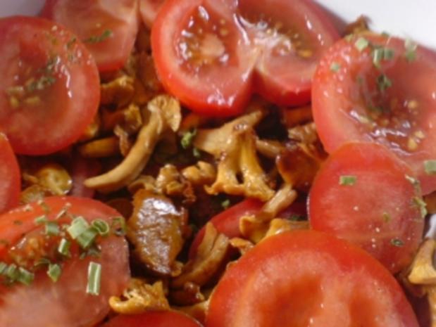 Überbackene Pilze - Pfifferlinge - Rezept - Bild Nr. 10
