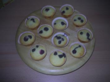 Rezept: Gebäck - Blaubeermuffins