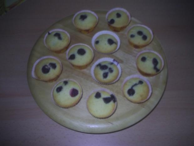 Gebäck - Blaubeermuffins - Rezept