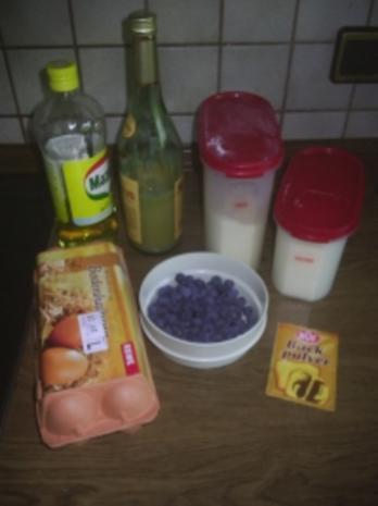 Gebäck - Blaubeermuffins - Rezept - Bild Nr. 2