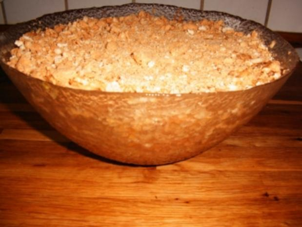 Apfelkuchen auf dänische Art - Rezept