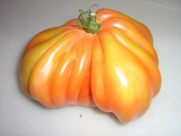 Ochsenherz-Tomatensalat mit Feta - Rezept