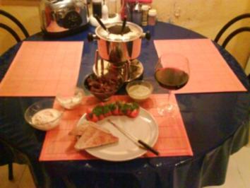Fondue: Provencalisches Fleischfondue - Rezept