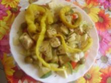 Salat von dem was noch da war - Rezept