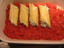 Cannelloni al Spinaci - Rezept