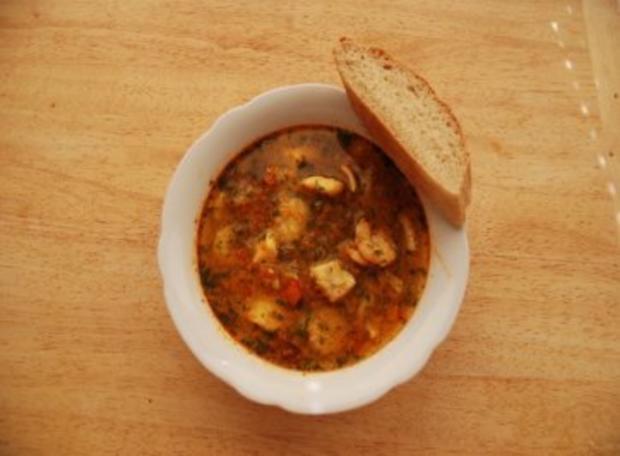 Fischsuppe andalusische Art - Rezept