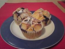 Heidelbeer-Vanille-Muffins - Rezept