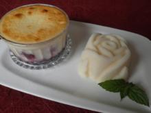 Mon Chèri -  Gratinierte Rotweinkirschen - Rezept