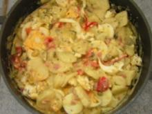 Lauwarmer Kartoffel - Salat - Rezept