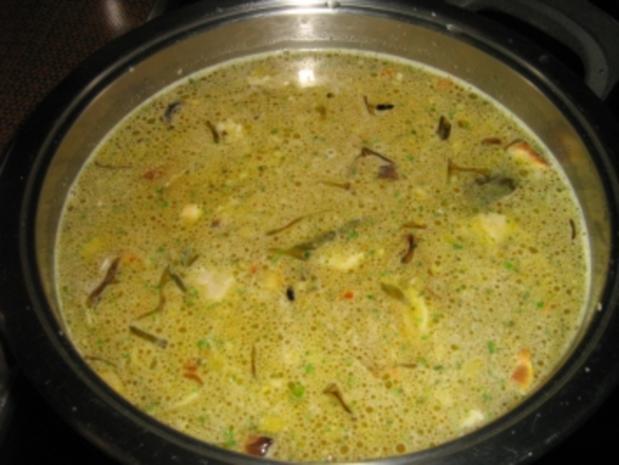 Gemüse-Reis-Süpple mit Fleischeinlage - Rezept - Bild Nr. 2