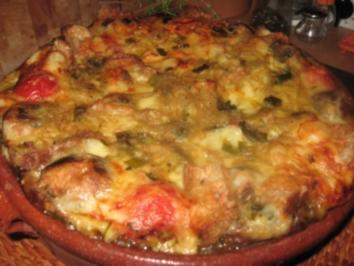 Zwiebel-Brot-Käse-Eintopf - Rezept