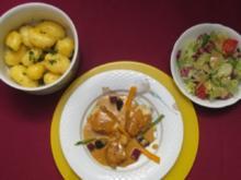 Lotte in Safransoße mit Morcheln und Salzkartoffeln - Rezept