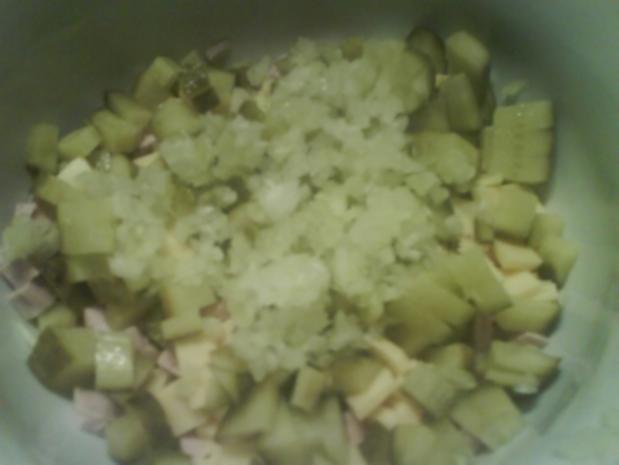 Käse-Wurst-Salat - Rezept - Bild Nr. 5
