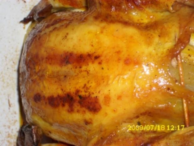 Fleisch:  Rosmarin-Zitronen-Hähnchen - Rezept - Bild Nr. 4