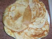 Pfannkuchenbeutel gefüllt (wurde in meinen Rezept Roastbeef erwähnt) hie:r mit Pfifferlingen Aber auch andere Füllungen - je nach Gericht - sind möglich - Rezept