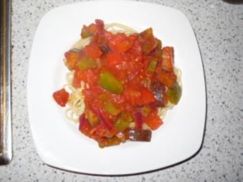 Spaghetti con Fuego - Rezept